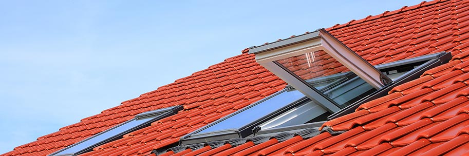 Lucarne et fenêtre de toit