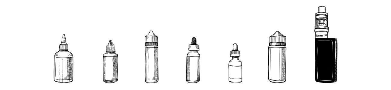 Les parfums de e-liquide