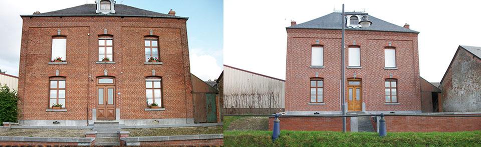 Réparation et traitement de la façade