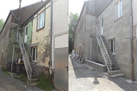 Travaux de ravalement de façade à Sars-Poteries (Hauts-de-France)