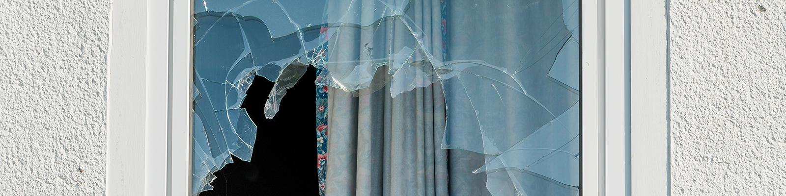 Le dépannage vitre cassée