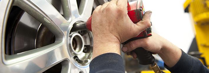 Réparation pneus