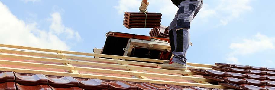 La réparation de la toiture