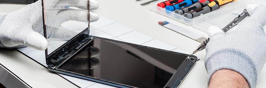 La réparation de tablette