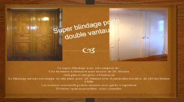 Super blindage