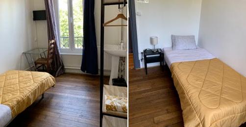 Des chambres d'hôtel équipées à Orry-la-Ville