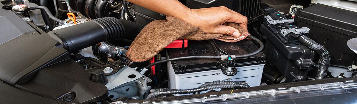 Le nettoyage du moteur