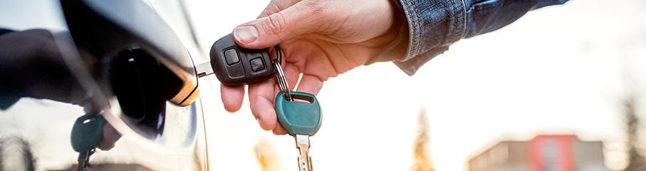 L'ouverture de porte de voiture