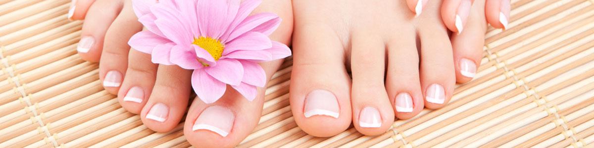 Les soins des pieds
