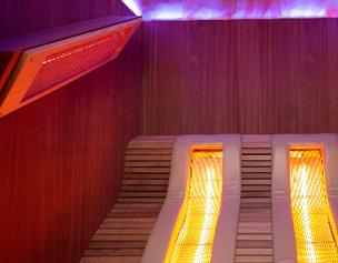 Le déroulement d'une séance de sauna infrarouge