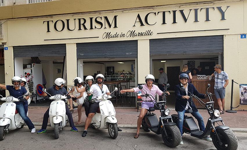 Location de véhicules 2 roues à Marseille – Scooters, vélos & buggys