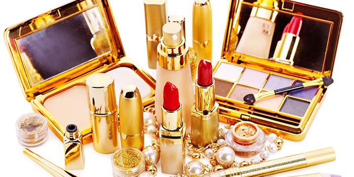 La gamme de produits cosmétiques
