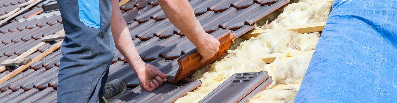 Le démoussage des toits