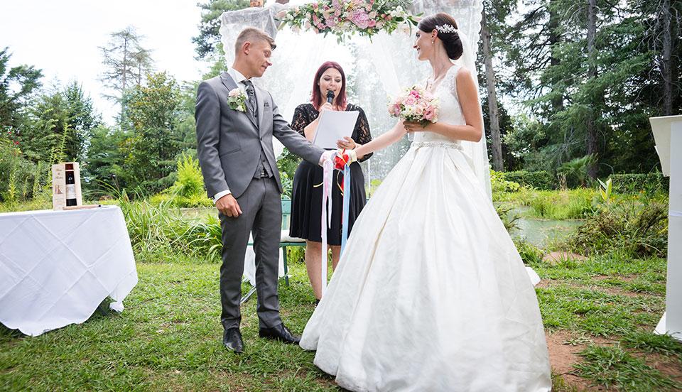 L'organisation d'une cérémonie de mariage laïque