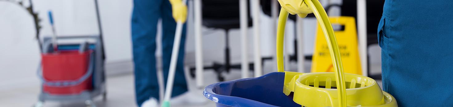Le nettoyage des bureaux