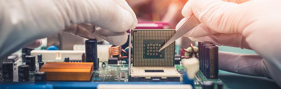 La mise en service de matériel informatique
