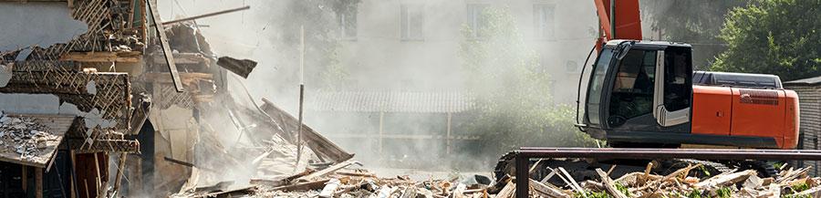 La gestion des déchets de démolition