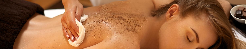 Les massages et gommages du corps