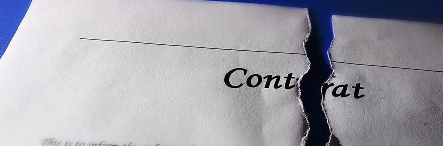 La résiliation du contrat de distribution
