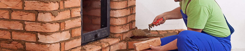 L'installation d'habillage de cheminée