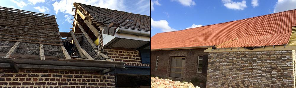 Couverture / toiture à Morbecque (Nord) – BRV Rénovation