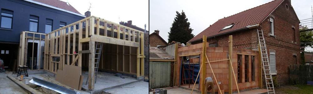 Extension de maison à Morbecque (Nord) – BRV Rénovation