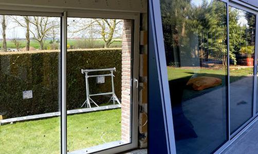 La pose de fenêtre