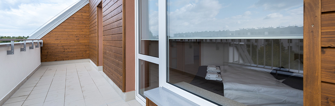 L'installation de vitre de véranda