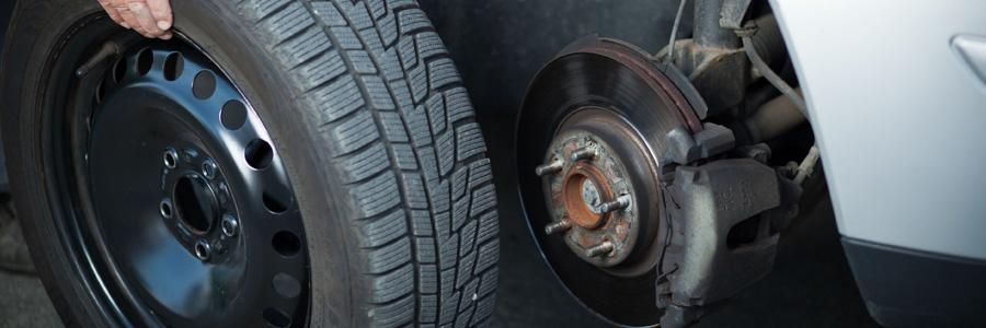 La vente et le montage de pneus