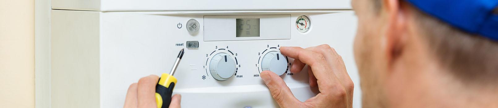Installation de chaudière à condensation