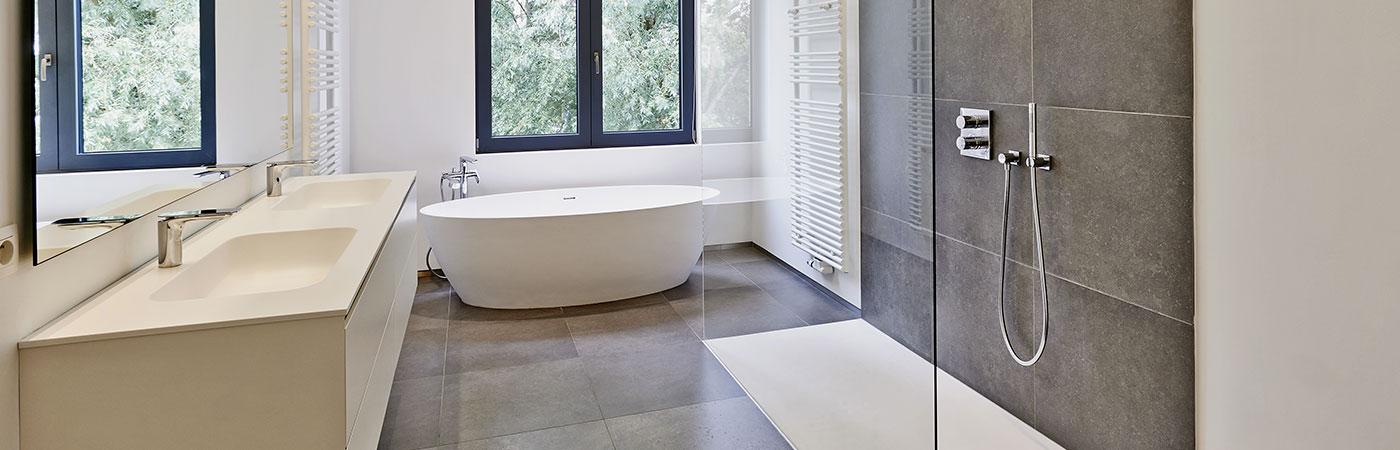Création de salle de bains à Ixelles