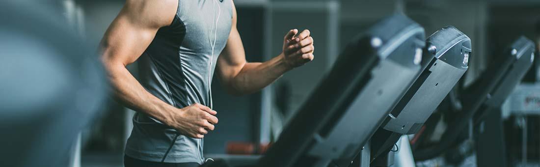Espace cardio et un espace musculation
