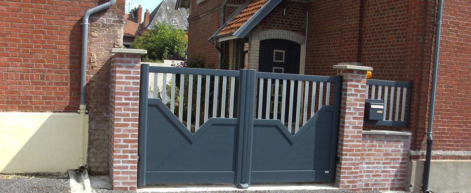 Clôture & portail à Saint-Quentin - Decossin