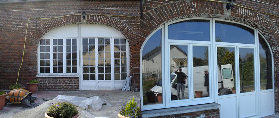 Porte d'entrée & porte d'intérieur à Saint-Quentin - Decossin