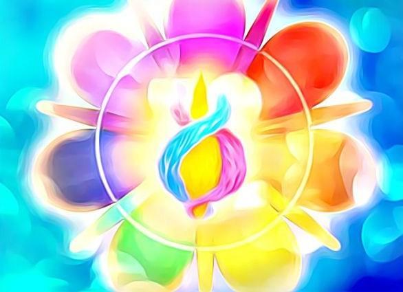 Les soins énergétiques avec les 7 rayons sacrés