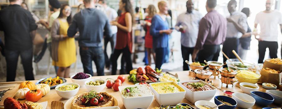 L'organisation d'événement bar à pâtes pour les particuliers