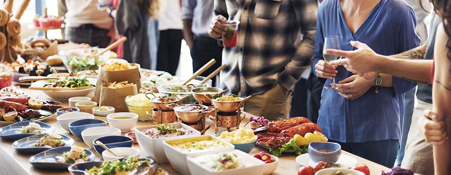 L'organisation d'événement bar à pâtes pour les professionnels