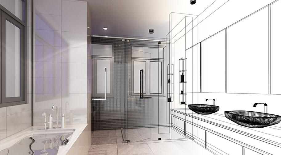 La conception de salle de bain