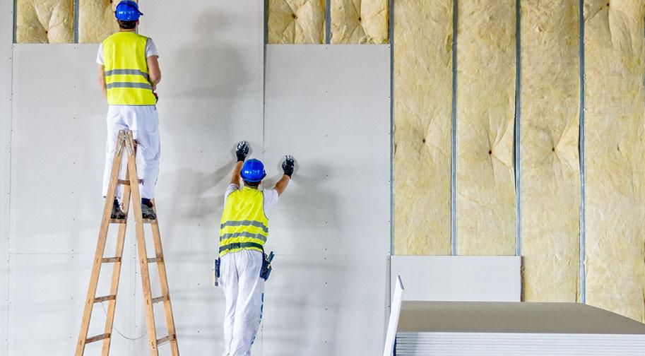 La construction de mur et cloison