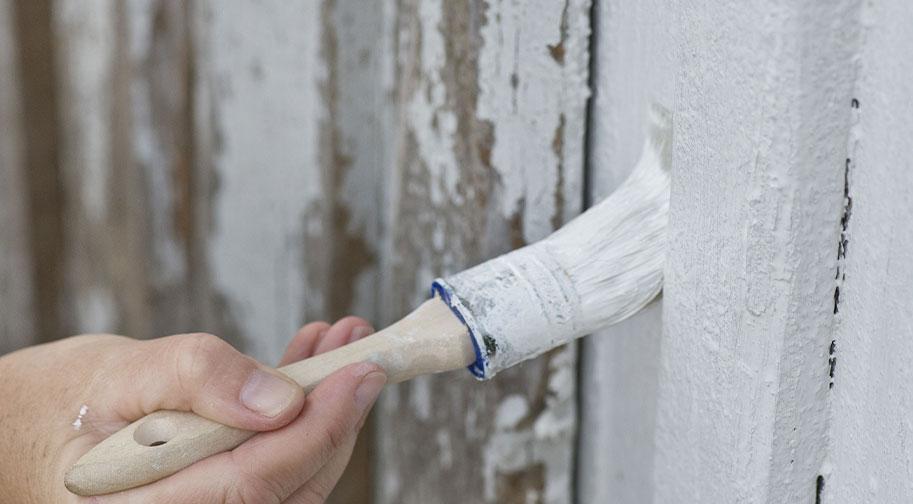 Réparation et traitement de la façade :