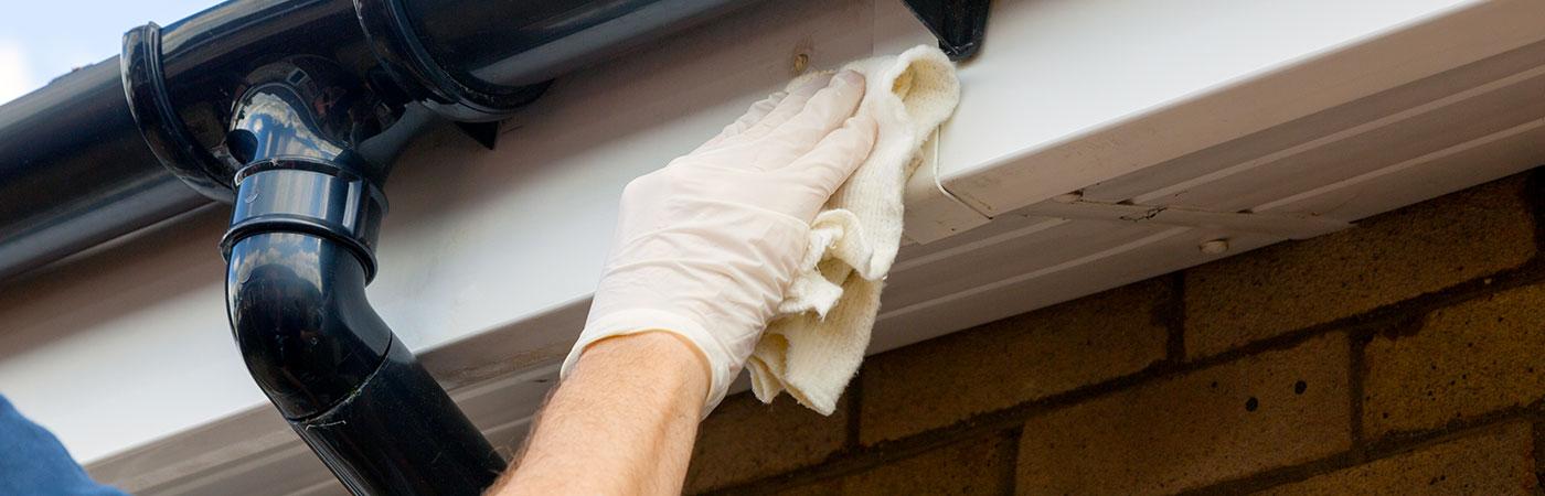 L'entretien et le nettoyage des gouttières