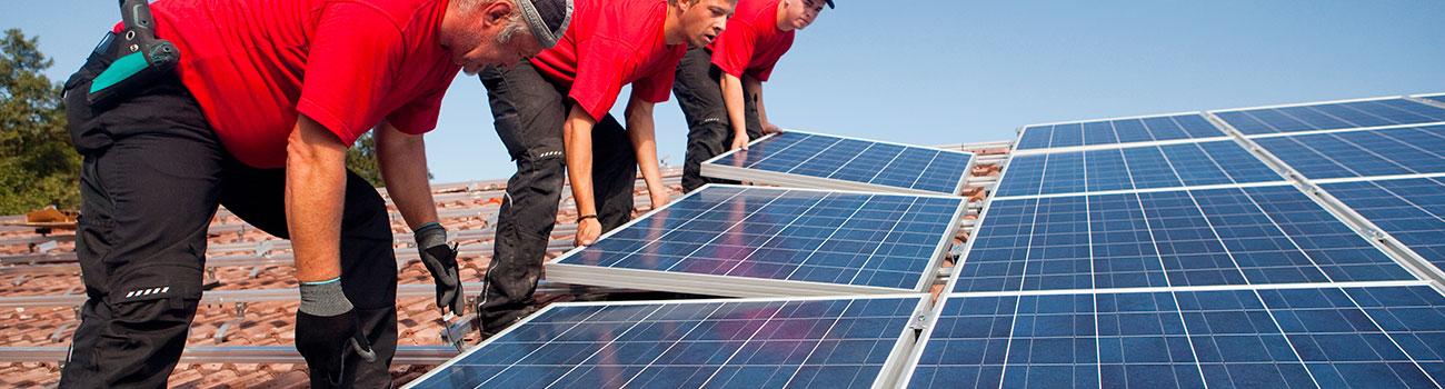 Les panneaux photovoltaiques