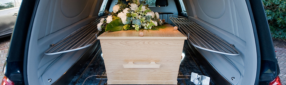 Transport funéraire à Curcy-sur-Orne (Caen)