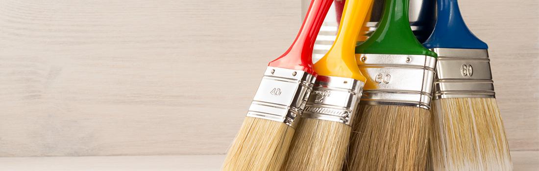 Les outils et accessoires de peinture