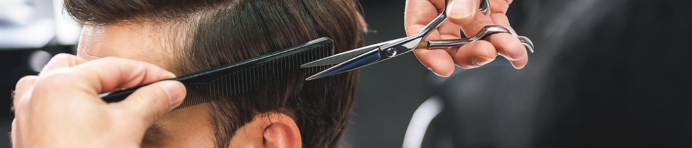 Salon de coiffure pour les hommes à Paris