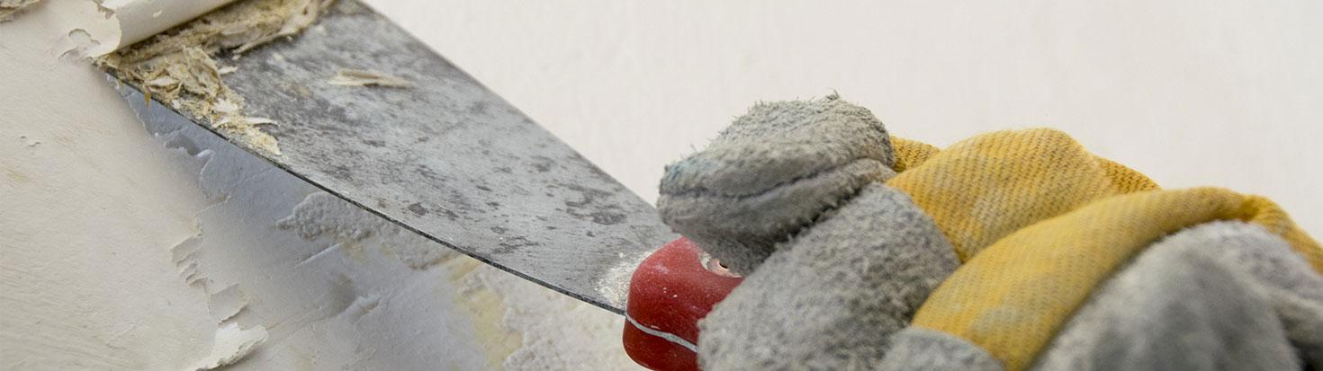 La préparation des murs avant travaux