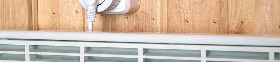 Prise, radiateur… la réparation d'équipements électriques