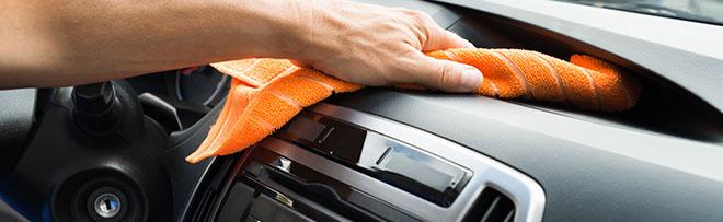 Le nettoyage des tissus – cuirs et velours