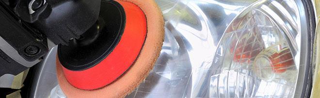 Rénovation d'optique de phare à Avensan – Station de lavage