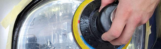 La rénovation d'optique pour des phares comme neuf